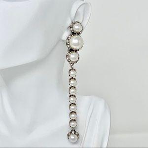 Lanvin Clip on Pearl Earrings